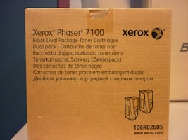 NEW! XEROX Phaser  [TL_HIDDEN] 5 Black Cartridge (2 in pack)