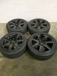 4 17 in 5x120 bmw wheels rims and tires