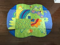 Toddler's green and blue activity mat Toronto, M2N 4S1