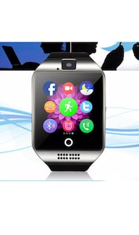 New smart watch works with iPhone Samsung lg htc with 512mb sd card Toronto, M9L 2H8