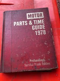 Motor Parts & Time Guide 1978 Louisville, 40203