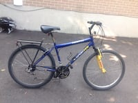 blue and yellow hardtail mountain bike Mississauga, L5J 3S8
