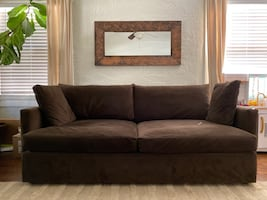 Crate and Barrel Lounge Couch
