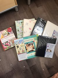 5 new, unused Scrapbooks & Idea book Calgary, T3K 4C2