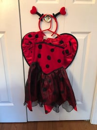 Lady bug dress with hair clips  Sterling, 20164