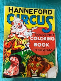 Hanneford Circus coloring book