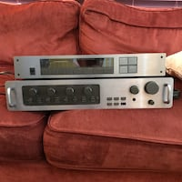 Carver C1 Preamp + TX2 Tuner Washington, 20011