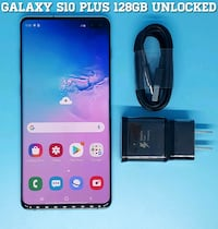 Galaxy S10 Plus (128GB) Factory-UNLOCKED (Like-New) Arlington