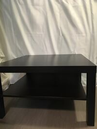 CHECK OUT ALL MY LISTINGS! IKEA Lack Coffee Table - Black/Brown  Edmonton, T5K 1P4