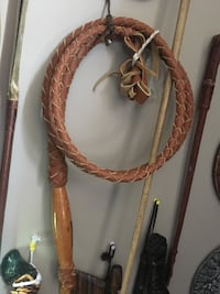 6 foot leather whip  Calgary, T2Y 2W5