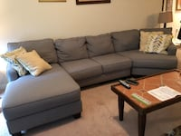 Sectional with chaise Hyattsville, 20782