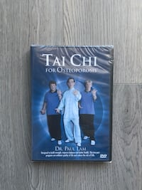 Reduced Price! Tai Chi for Osteoporosis DVD Markham, L3R