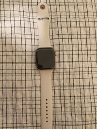 black Apple watch with white sports band Bakersfield, 93312