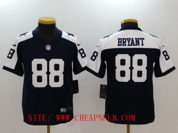 on sale 10e86 858d6 Youth Dallas cowboys 88 Bryant Blue Thanksgiving Nike Vapor Untouchable  Limited NFL Jerseys