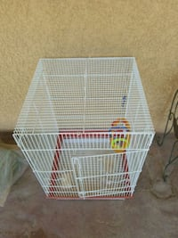 white metal wire pet cage Lake Elsinore, 92532