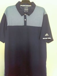 Men's New Adidas climacool golf Polo for $10.00