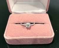 NEW Engagement Ring 14KT Gold + 56 Points Diamonds MONTREAL
