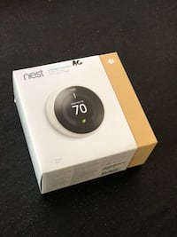 Nest learning + thermostat