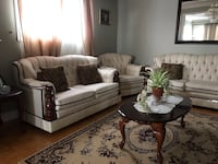 6 pc living room couch and coffee table set Toronto, M9L 1G7