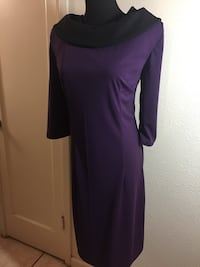 Purple dress excellent condition 2321 mi