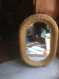 Oblong Wicker mirror Gerrardstown, 25420