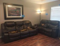 Reclining sofa & love seat (great for a camp) Lockport, 70374