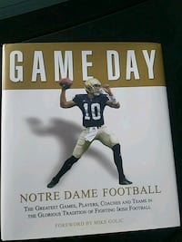 Notre Dame football book Patchogue, 11772