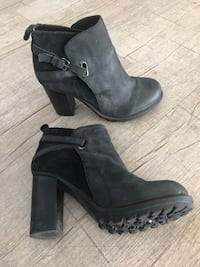 Rebel booties (suede and leather) Los Angeles, 90028
