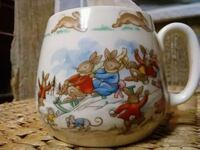 Bunnykins, Royal Doulton childs Cup Afton, 37616