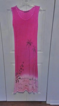 women's pink sleeveless dress size M/L Columbus, 31909