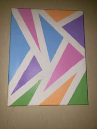 Triangle abstract Choudrant, 71227
