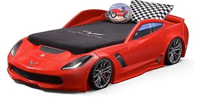 Step two corvette bed( mattress and sheets not included)