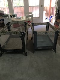 Foldable cribs $25 each Centreville, 20121