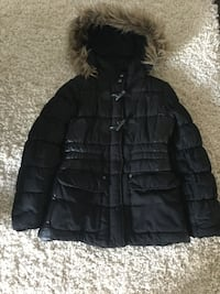 Girls Black Coat size 14 kids! Priced to sell