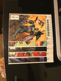 Ultimate Avengers issues 1-5 Downey, 90241