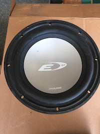 "10"" Alpine Type E Subwoofer Manteca, 95337"