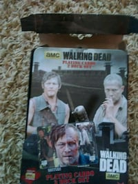 Walking dead playing cards Guthrie Center