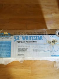 "Harbor Breeze 52"" Whitestar Ceiling Fan"