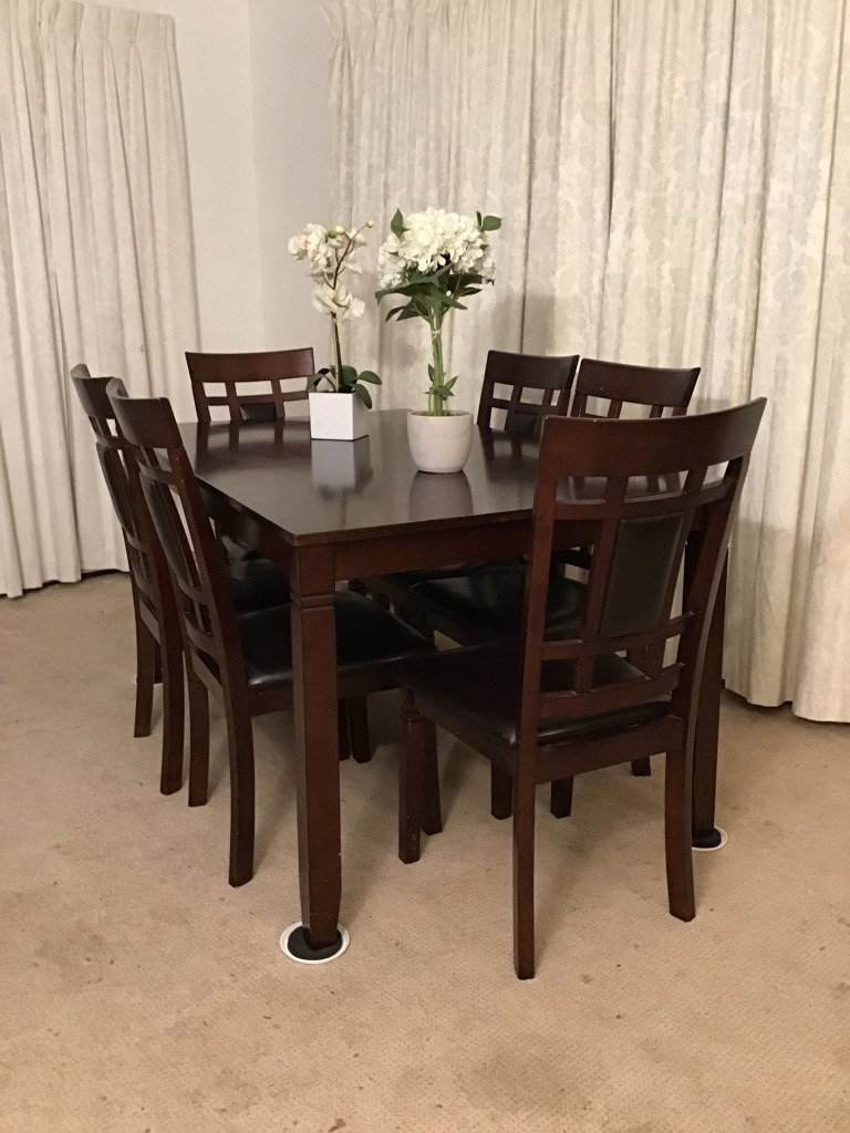 Charmant Classic Dining Table 6 Chairs