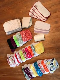 Applecheeks Washable Diapers - gently used Mississauga