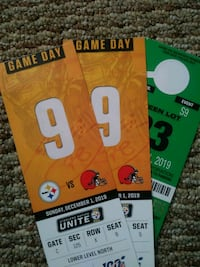 Steelers Tickets browns parking