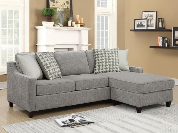 **SALE**NEW Reversible Sectional & FREE Storage Ottoman**2 colors**No Credit Needed** 0e973984-7c61-434f-91dd-0bd7aee10d42