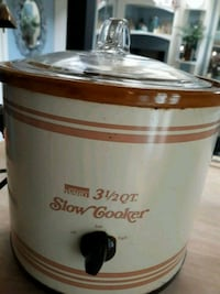 Vintage Slow Cooker 3 1/2 quart capacity Germantown, 20874