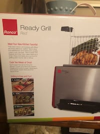 Ronco Ready Grill Indoor Smokeless Cooking Oakville, L6H 6M9