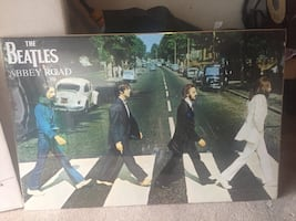 Beatles posters new in plastic