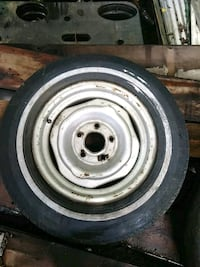 gray bullet hole car wheel with tire Owensboro, 42301