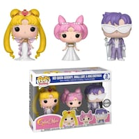 PRICE IS FIRM, PICKUP ONLY - Figurine Sailor Moon - 3-Pack Serenity Small Lady & Endymion Pop 10cm- Toronto, M4B 2T2