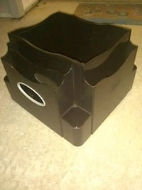 Staples's Swiveling File box & Organizer in one! Mount Airy, 21771