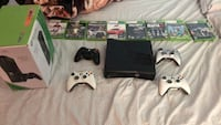 Xbox 360 with games and accessories  Oshawa, L1K 2S8