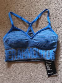 blue and black sports bra Sterling, 20164